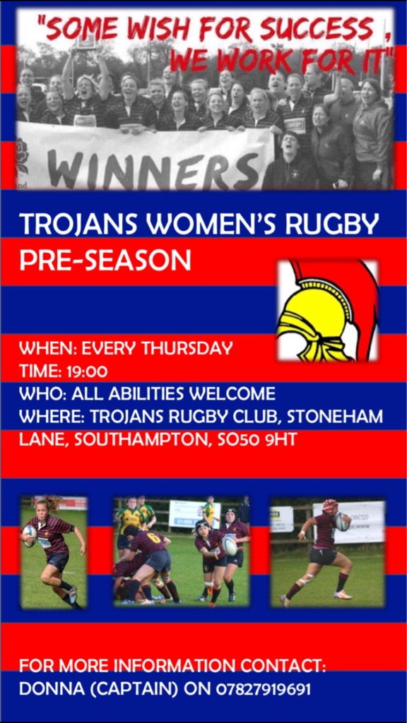 Trojans Ladies Rugby Team