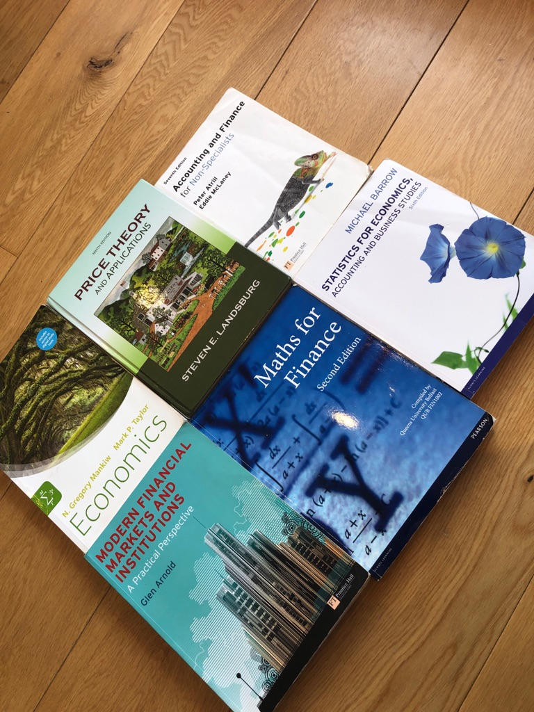 University Finance / Economics / Accountancy textbooks