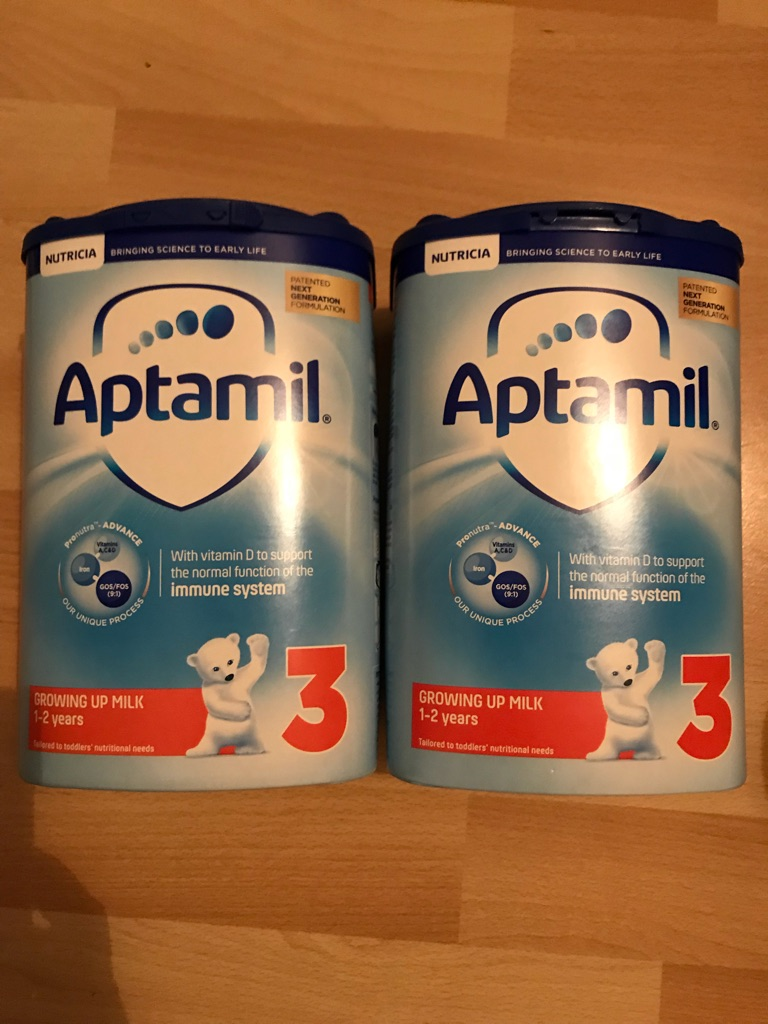Aptamil Growing Up Milk Stage 3.