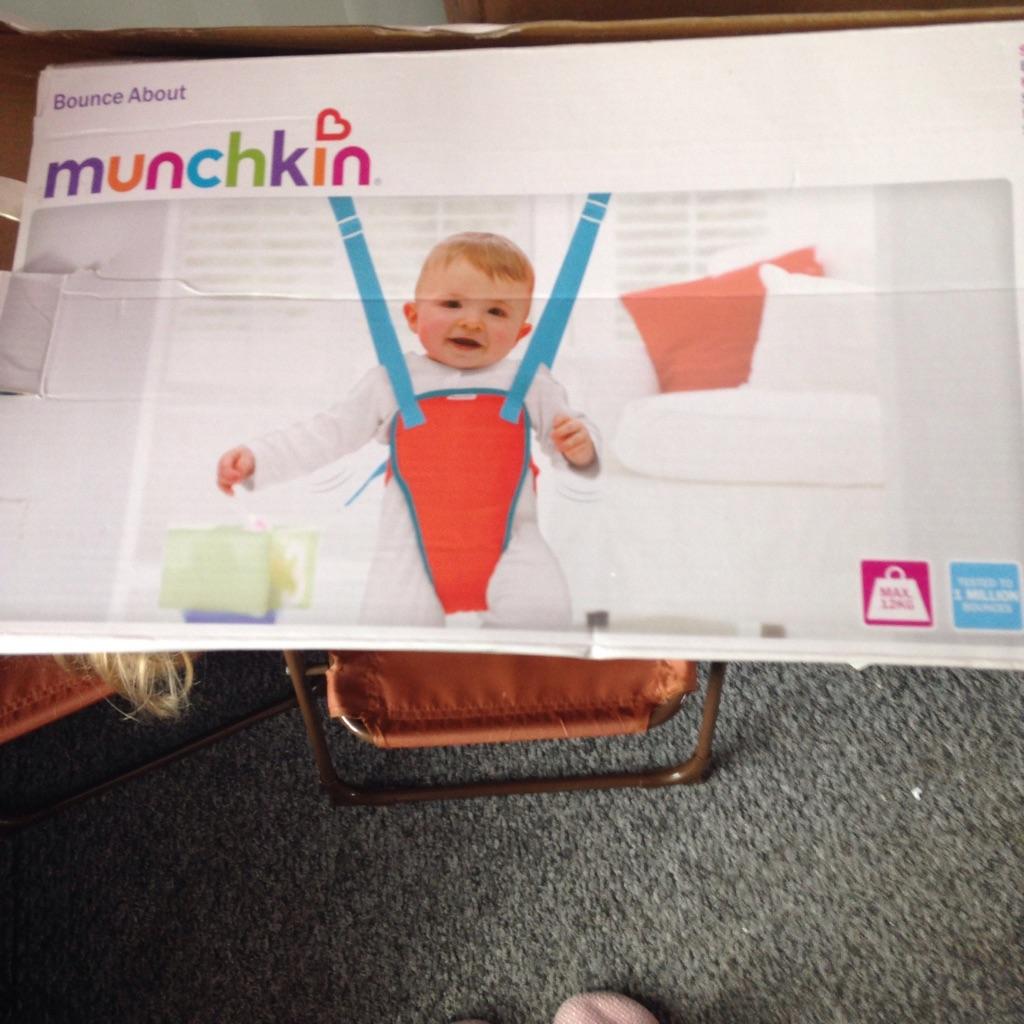 Munchkin baby bouncer