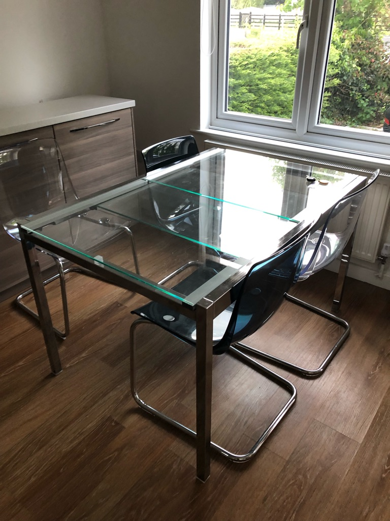 Ikea table & 4 chairs