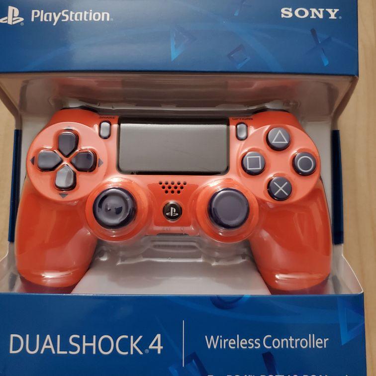 Orange ps4 controller