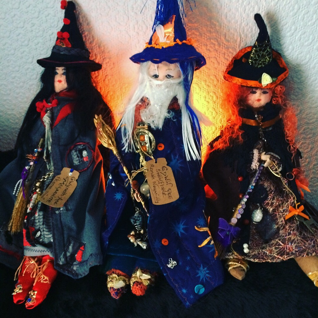 Psychic reading email plus Romany Rose doll
