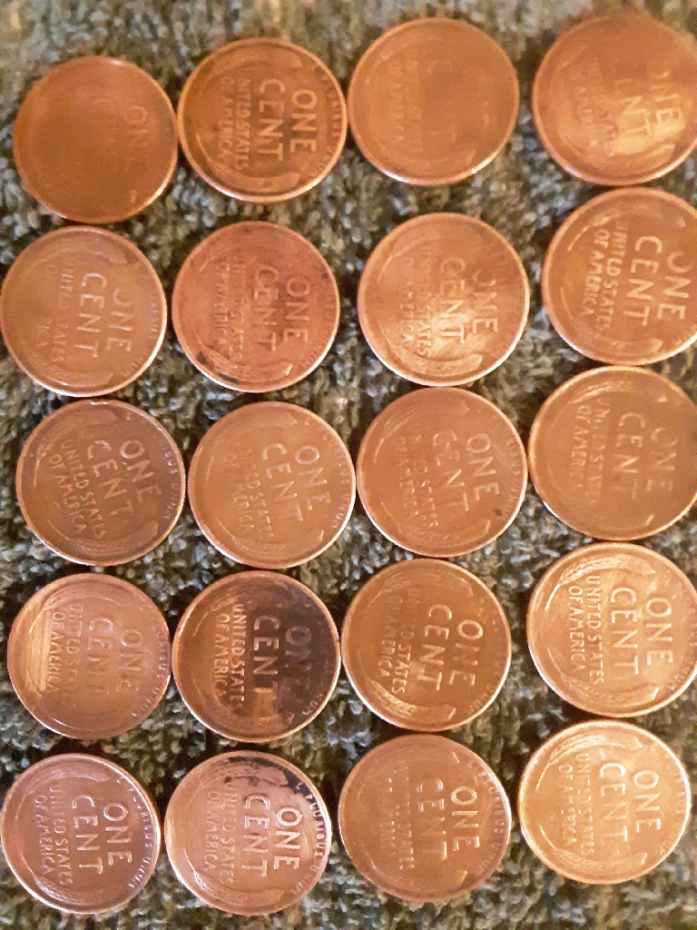 Wheat and pennies for sale