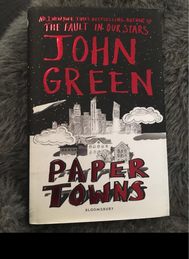 Paper towns by John green book vgc