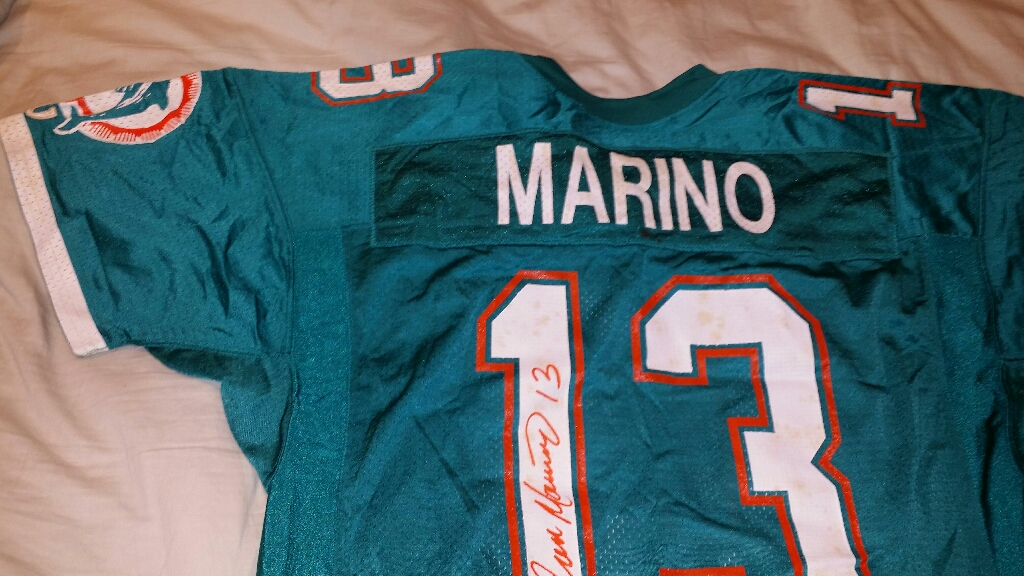 AUTOGRAPHED GAME WORN JERSEY