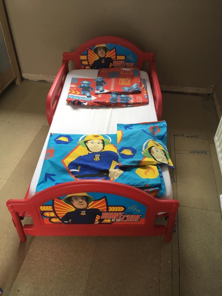 Fireman Sam Toddler Bed