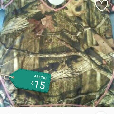 Realtree breakout camouflage t-shirt