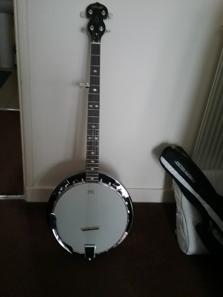 Stagg 5string banjo western style