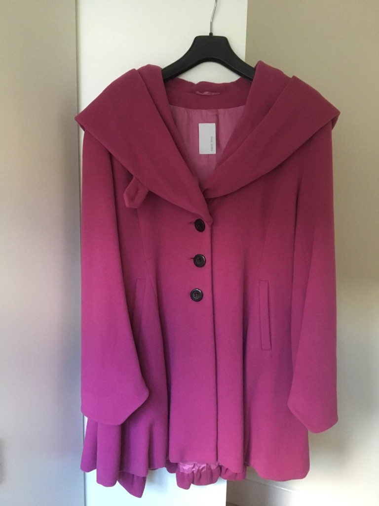 Wool & cashmere coat