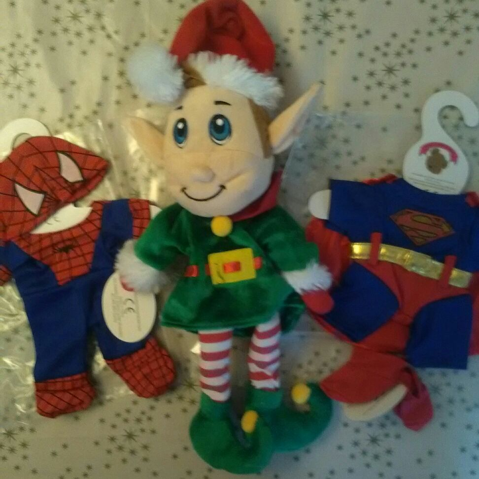 Elf and two outfits bnwt