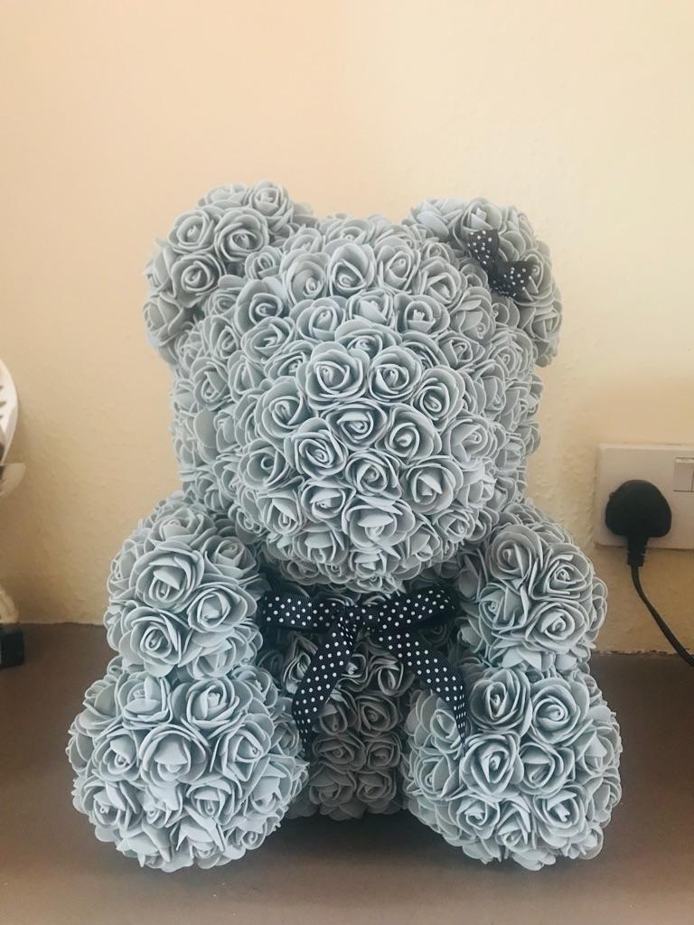 Handmade Foam Rose Bears