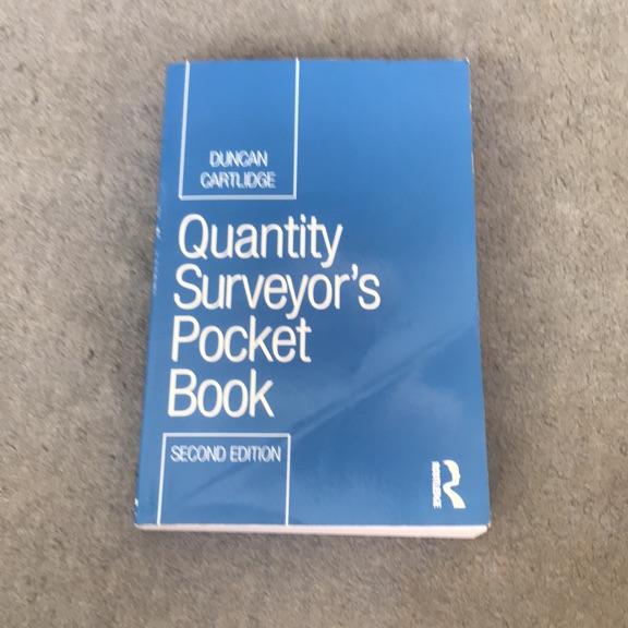 Quantity Surveyors Pocket Book