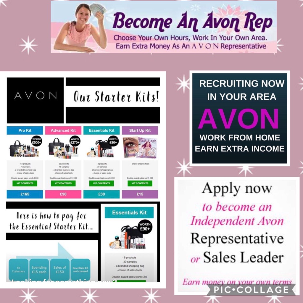 Join Avon and start earning extra cash