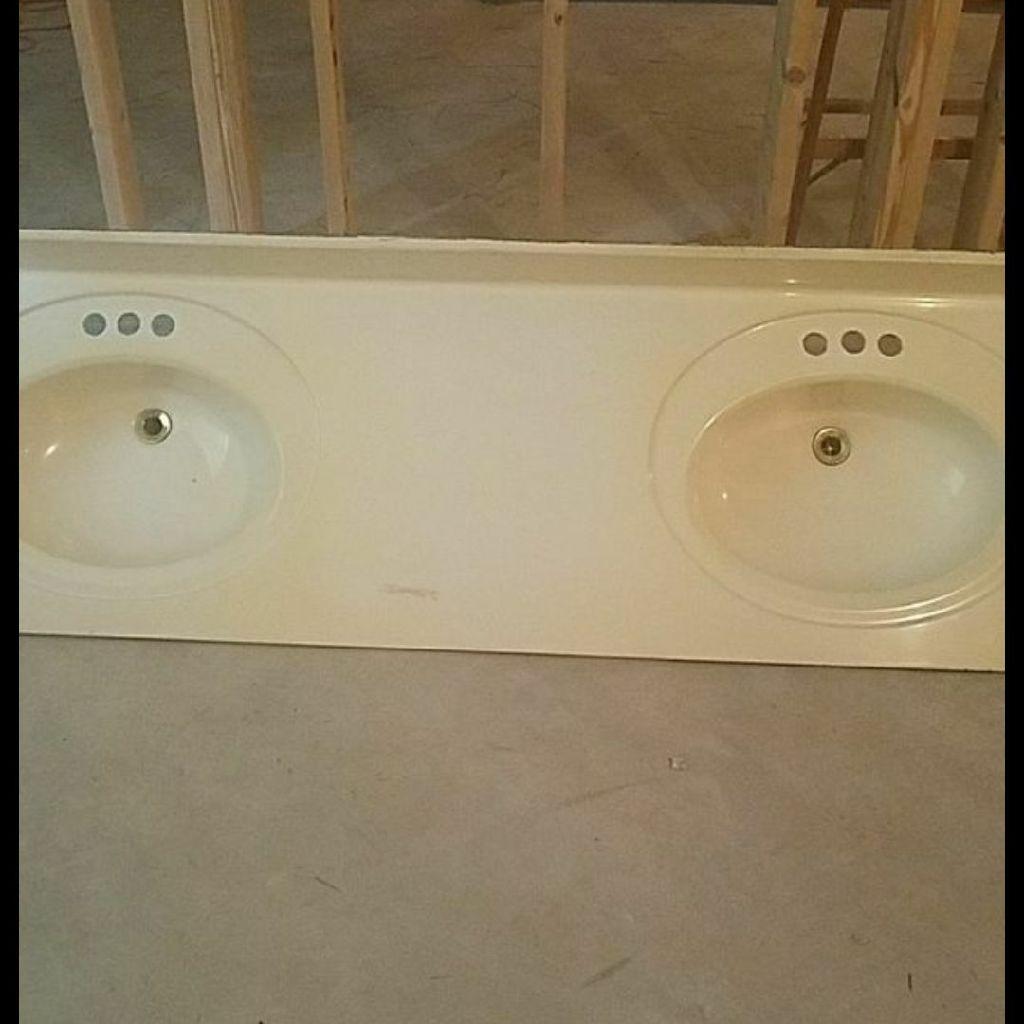 Double sink top