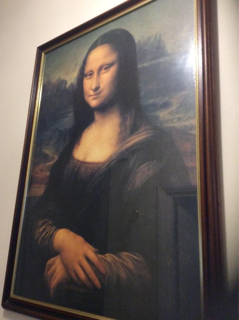 The Mona Lisa portrait picture