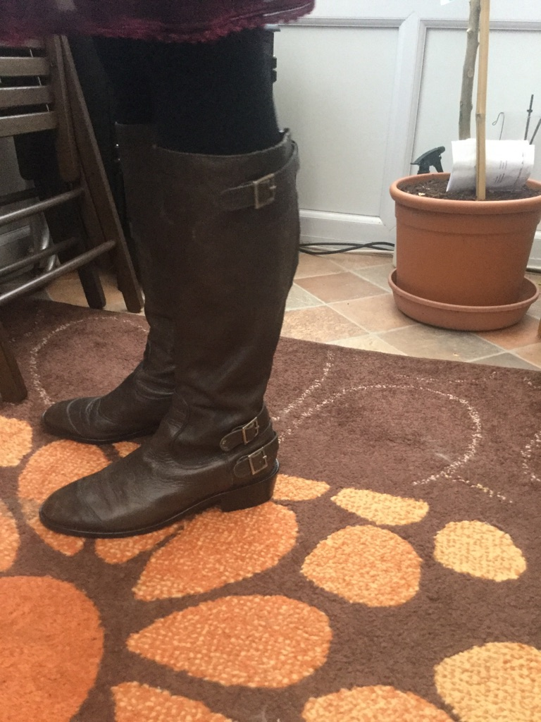 Jigsaw leather boots Size 6 wider fitting feet