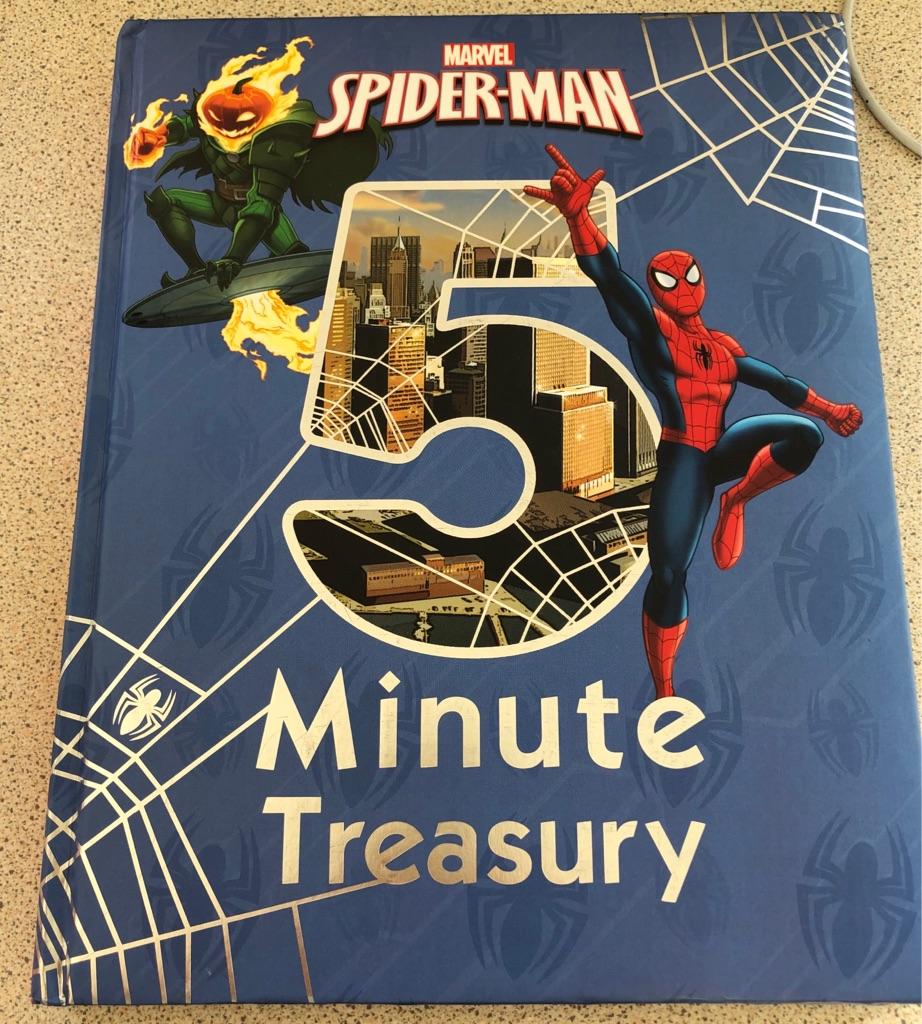 MARVEL SPIDER-MAN 5 MINUTE TREASURY BOOK
