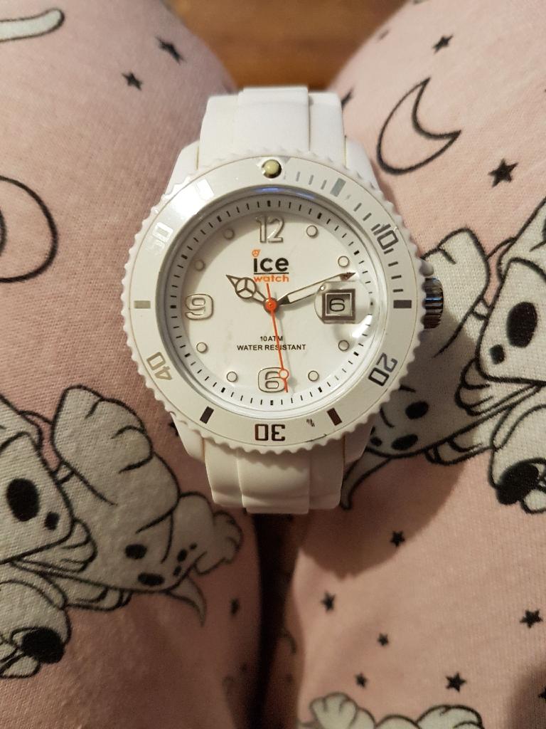 Genuine ice watch.
