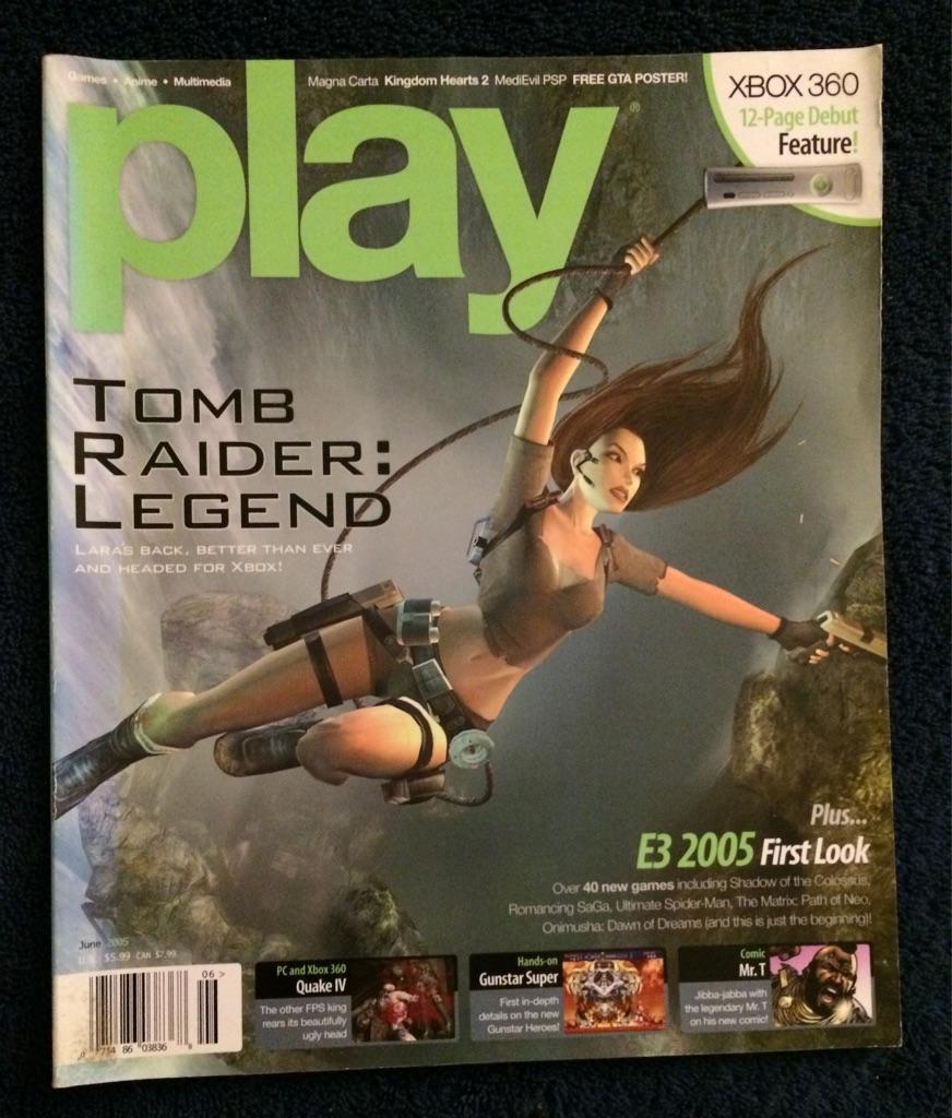 Play Magazine June 2005 🎮🗞