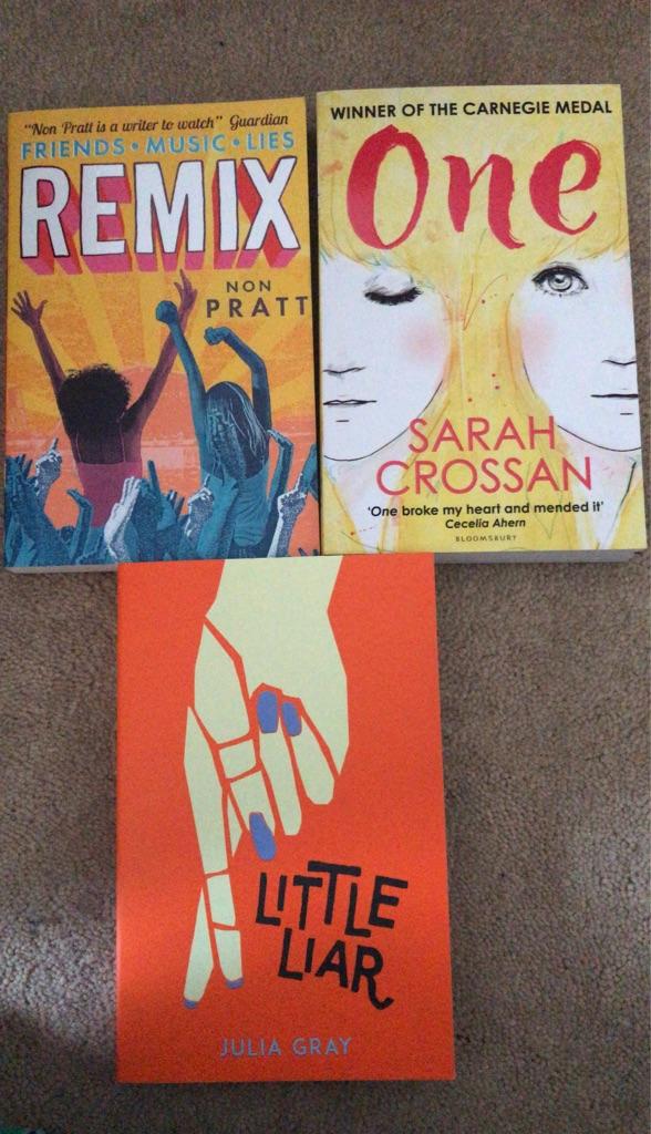 Teen Books - 3 books