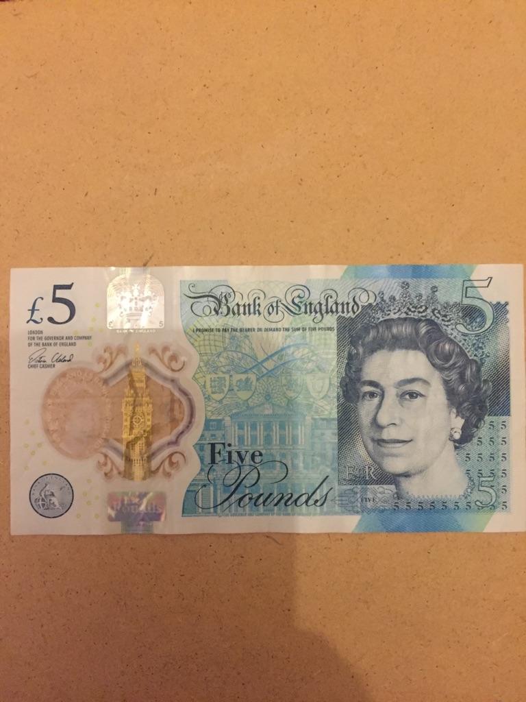5 pound note AK47 ( 812815 )