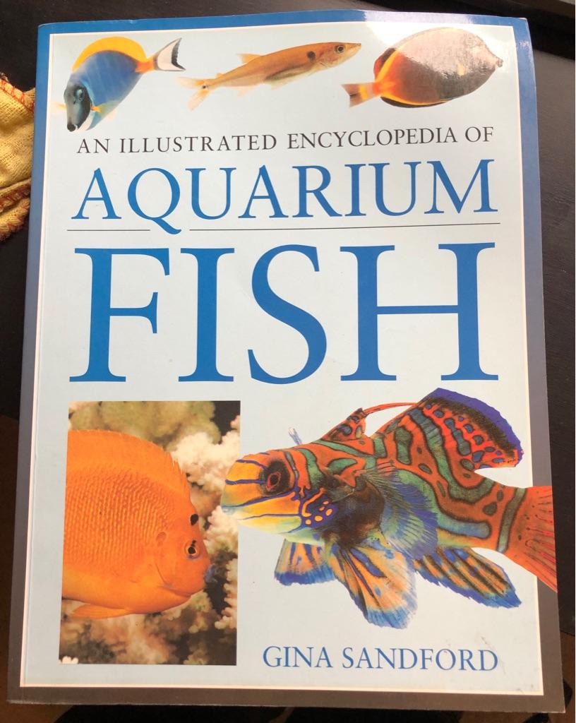 AN ILLUSTRATED ENCYCLOPAEDIA OF AQUARIUM FISH BOOK