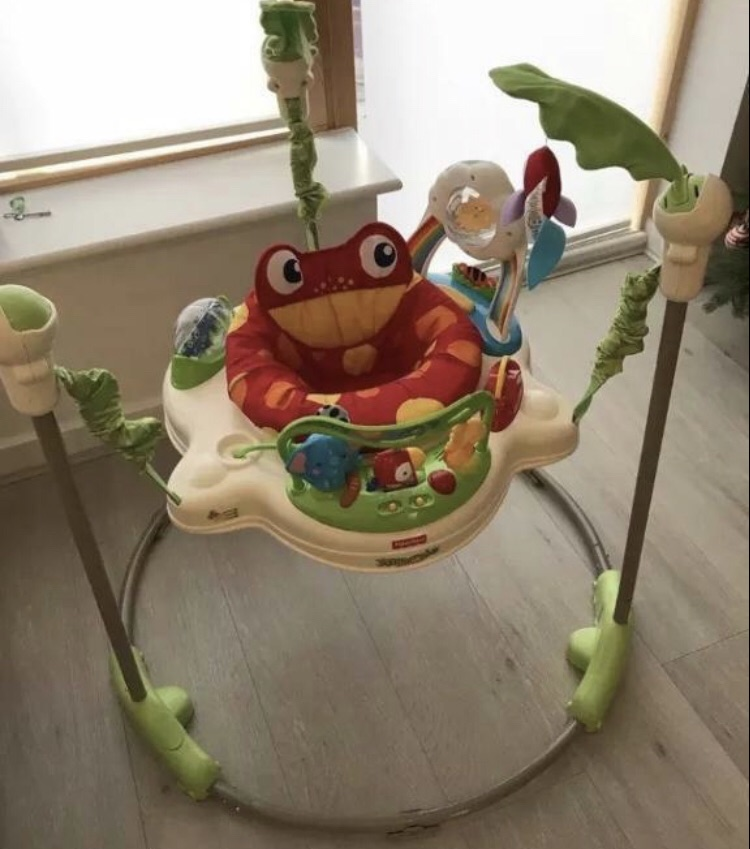 Jumperoo baby bouncer EXCELLENT CONDITION