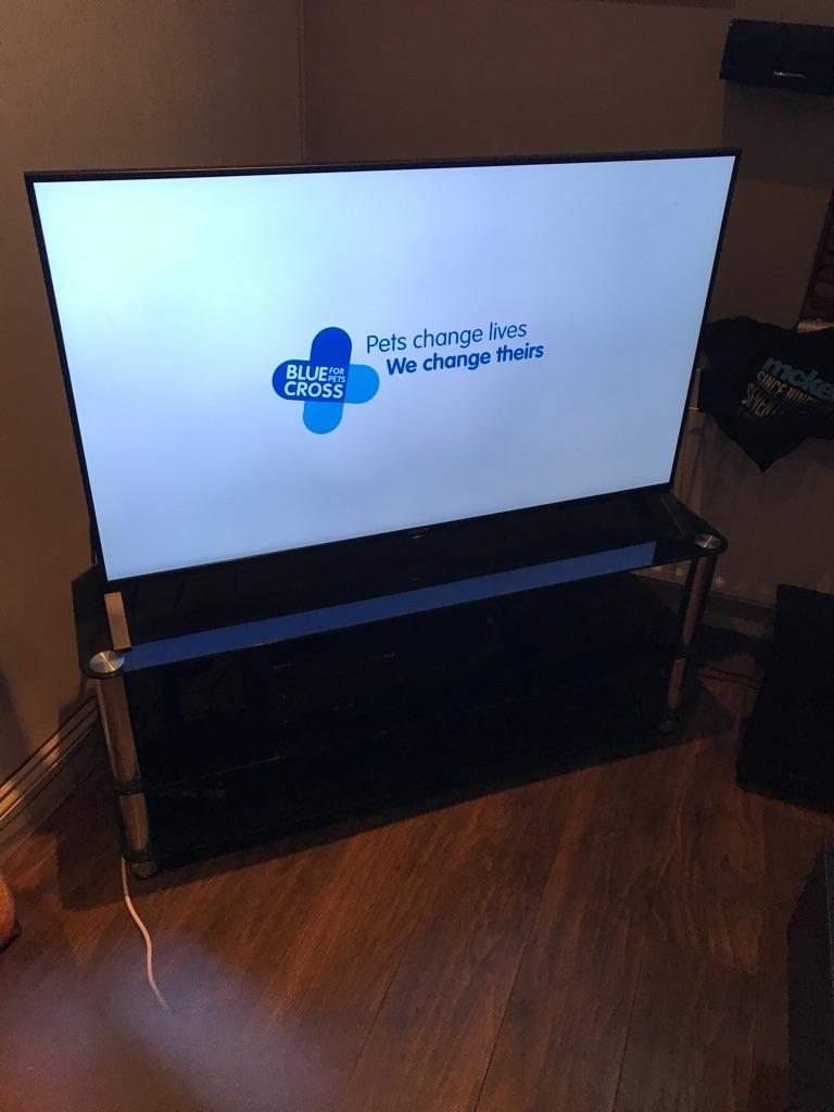"sony kd49x8505b 4K 49"" TV 3yrs old £1200 new"