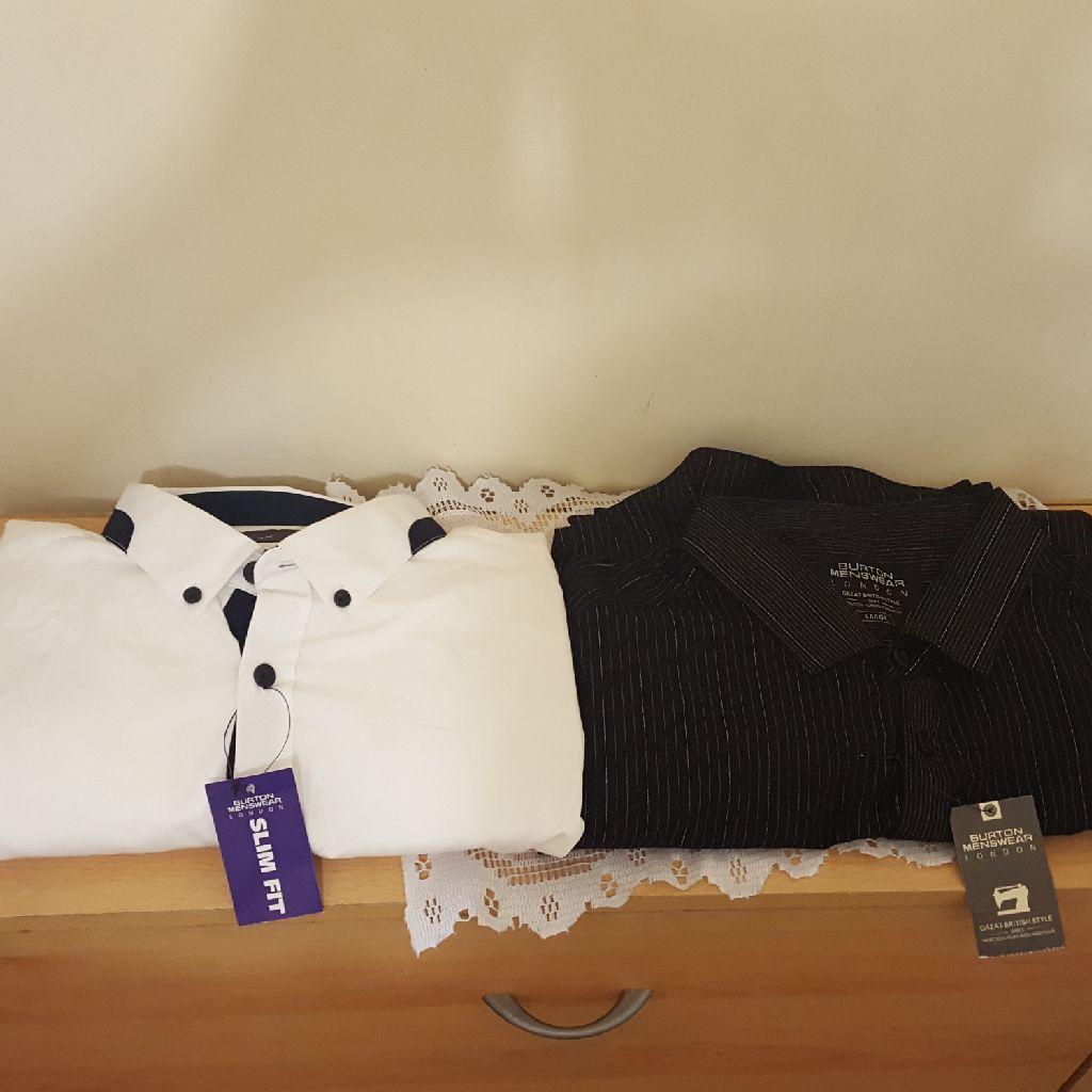 2 Burton Menswear Shirts