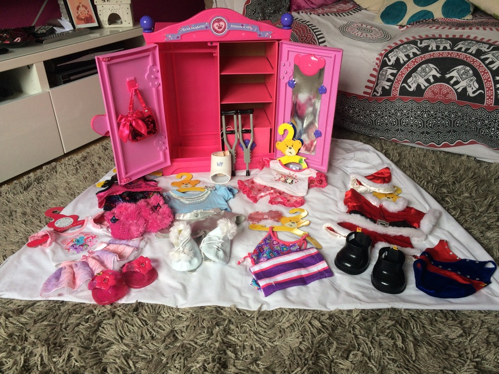 Build-A-Bear wardrobe and accessories