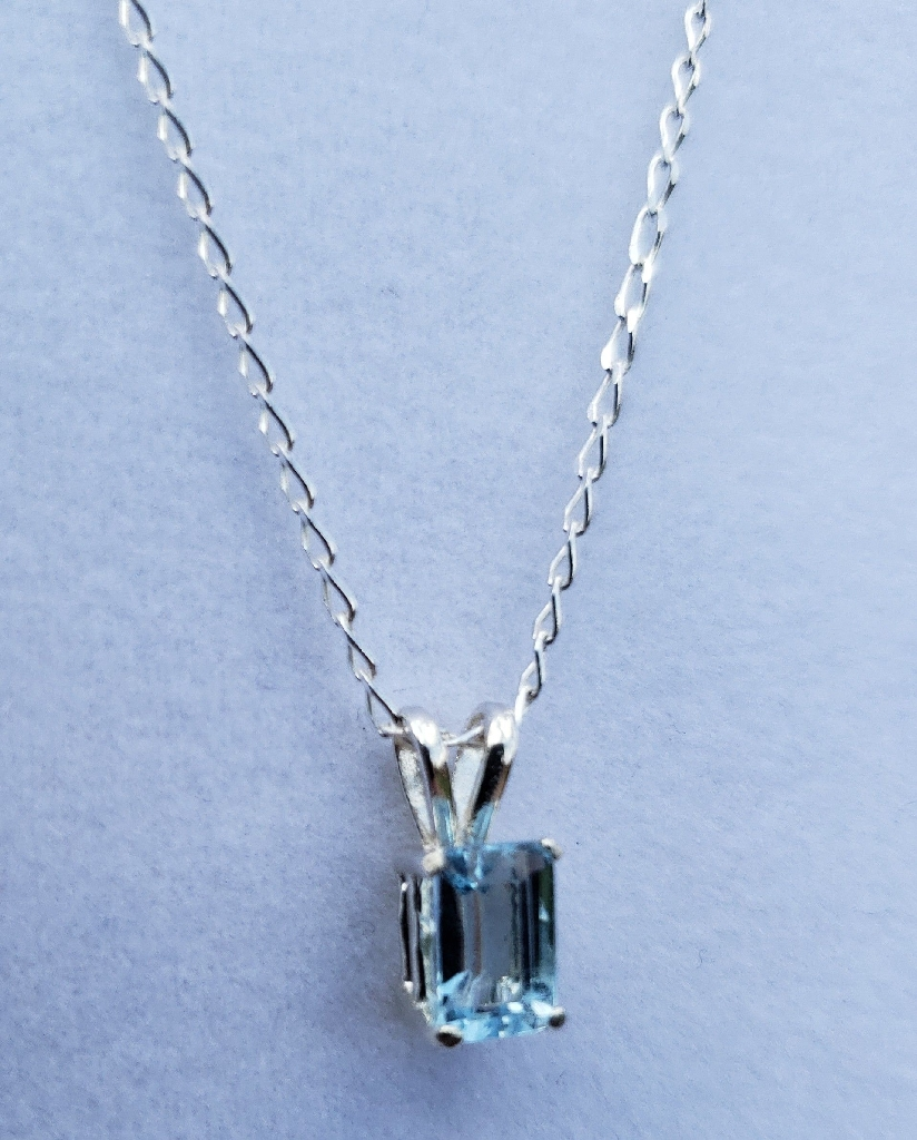 Swiss Topaz Sterling Silver Necklace
