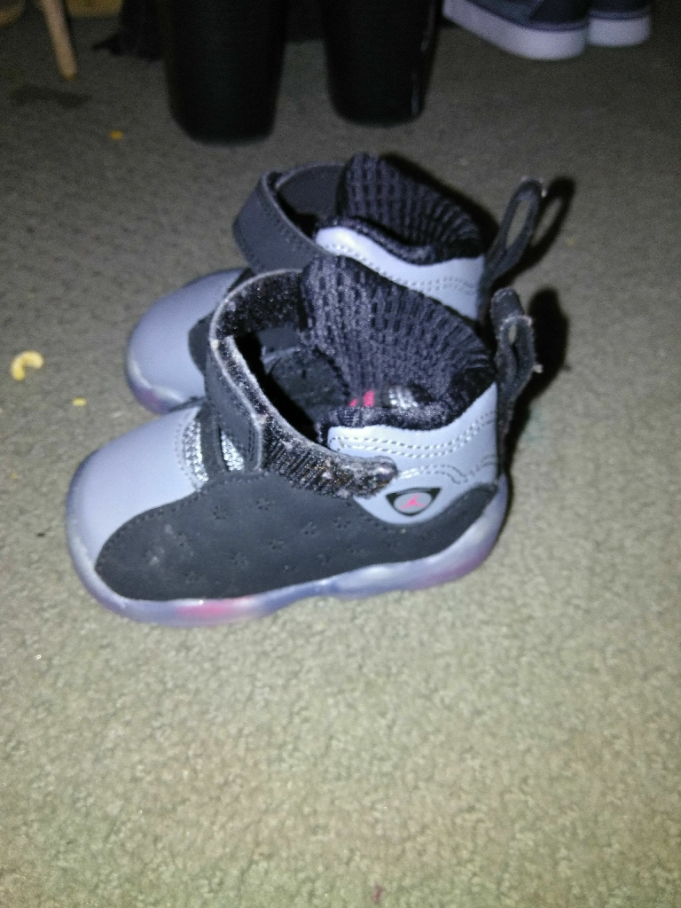 crib shoes boy jordans