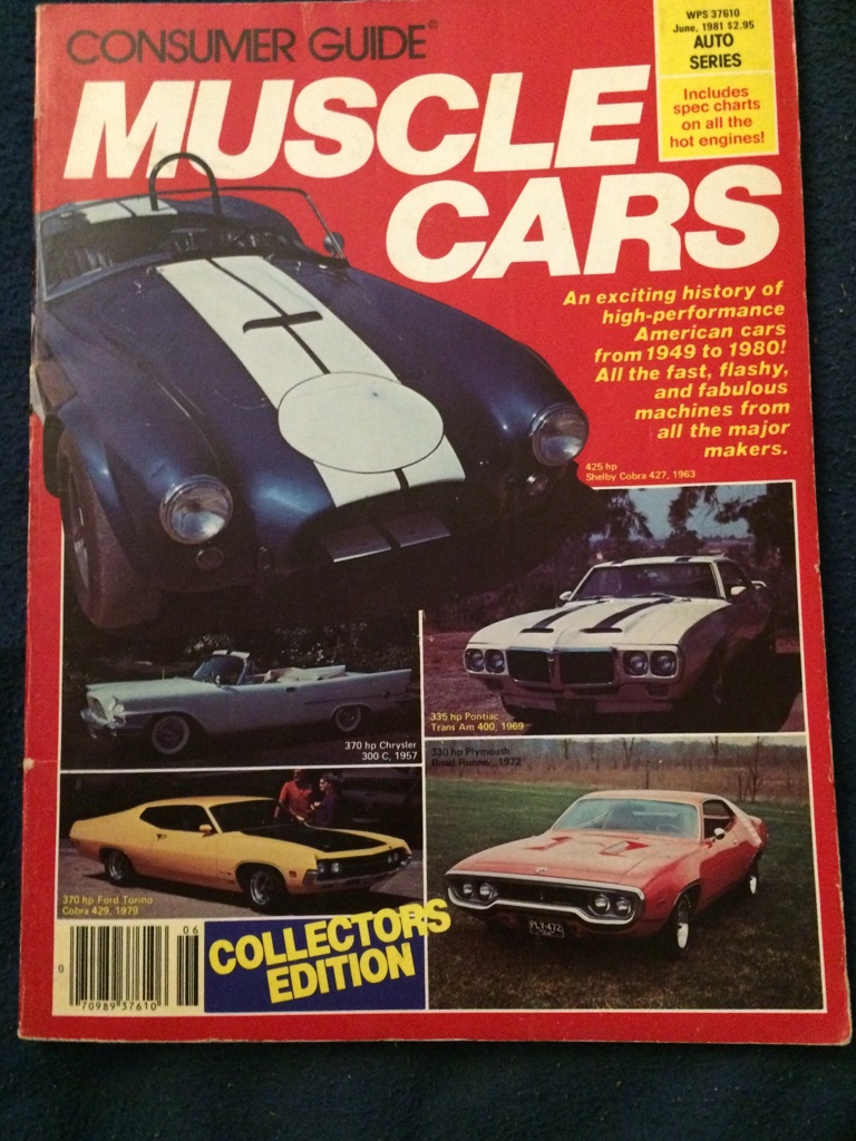 Consumer Guide Muscle Cars