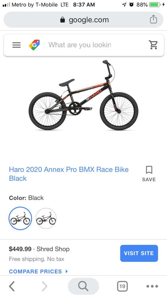 Haro mountain bike