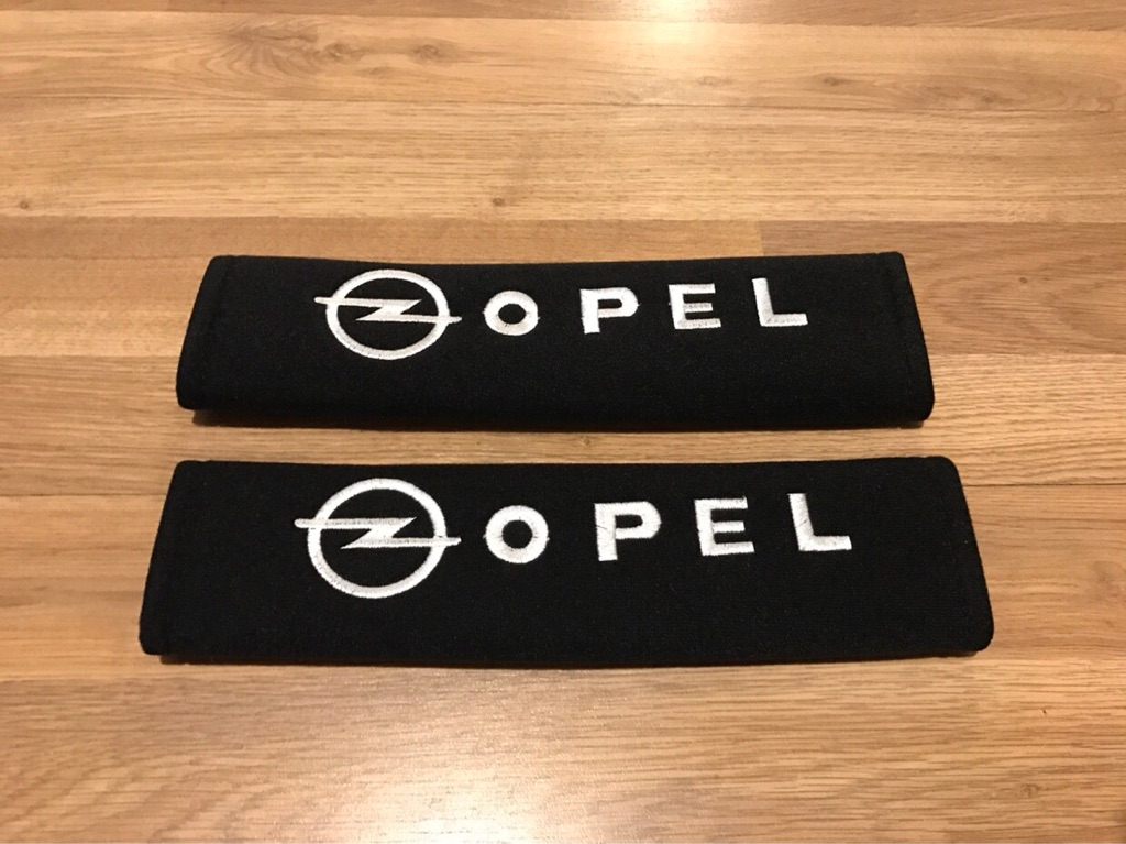 2X Seat Belt Pads Gift Opel Insignia Vectra Corsa OPC Astra Sport