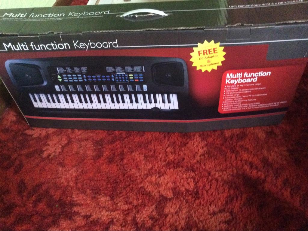 Multifunction keyboard