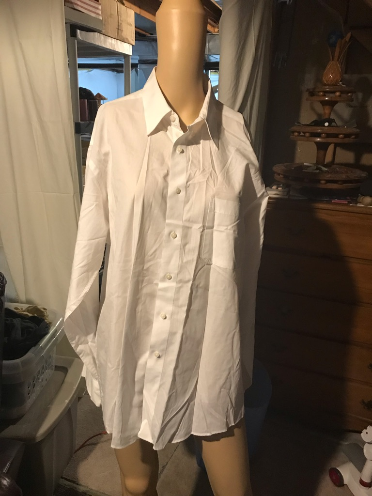 Pierre Cardin White Dress Shirt