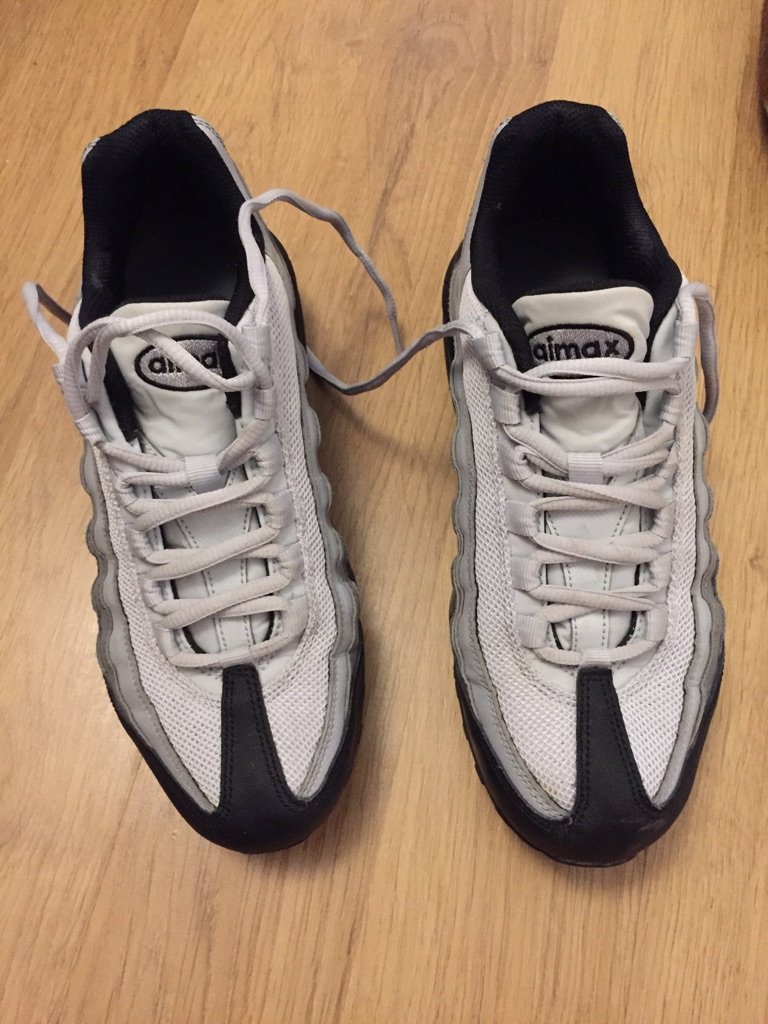 Nike air max 95s size 5.5 worn once