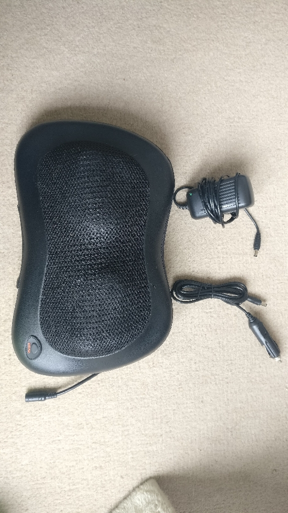 Shiatsu Back Massager - comes with car adaptor!
