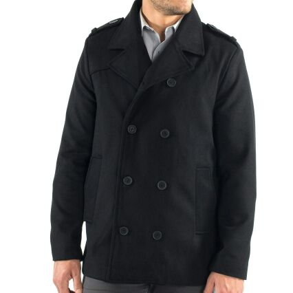 Men's Peacoat by Swiss Alpine