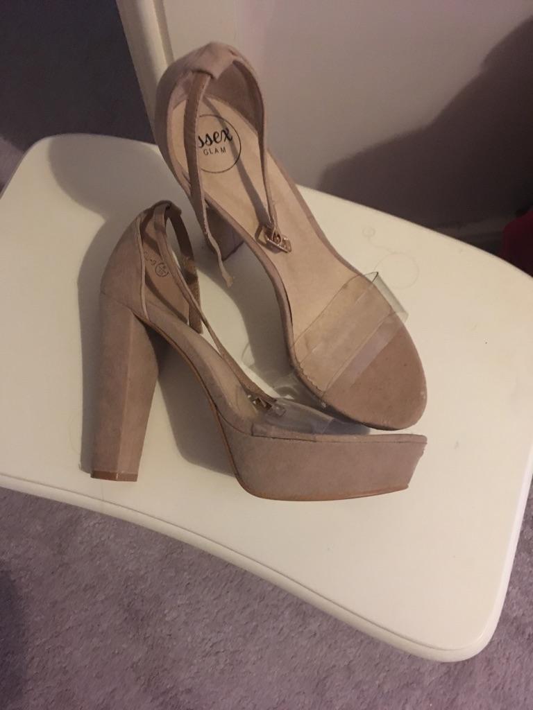 Essex glam heels UK size 6
