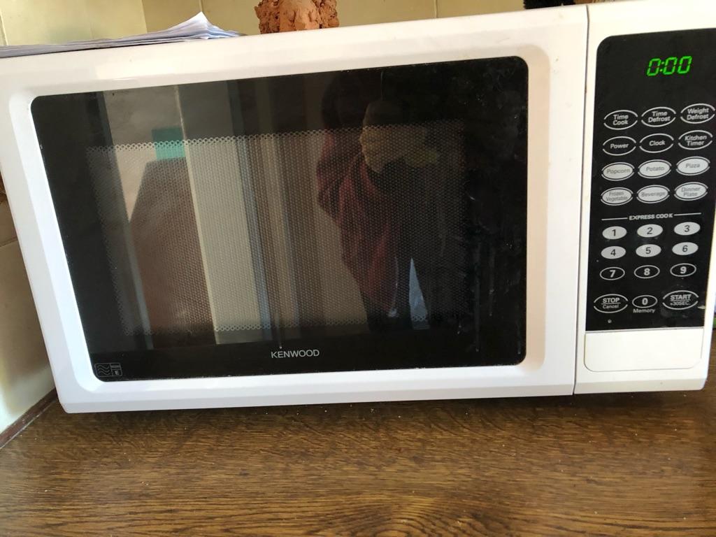 Kenwood microwave 8-900 watts