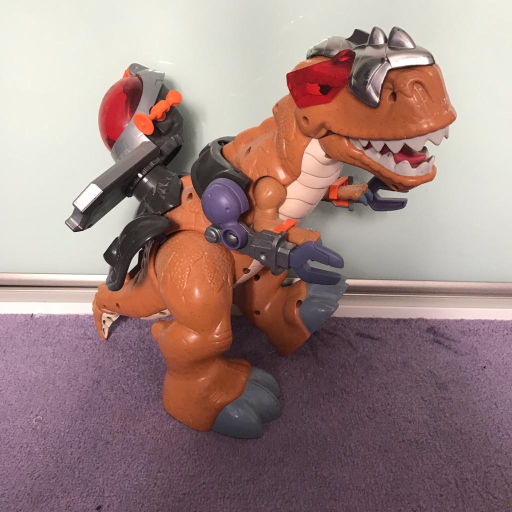 Moveable dinosaur