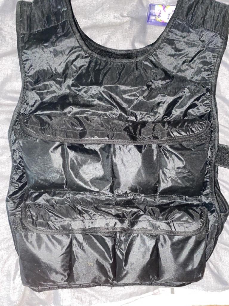 Training sand bag vest