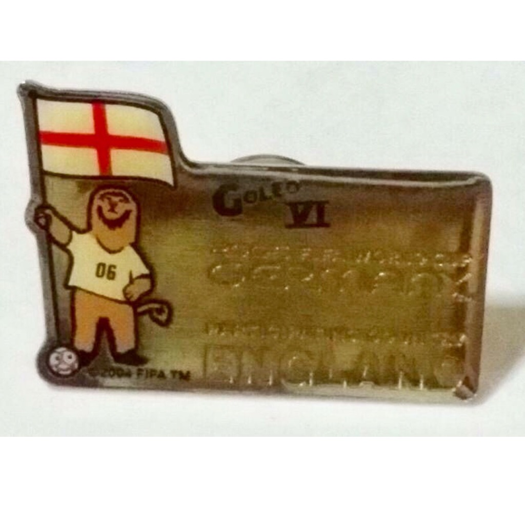 Fifa Germany 2006 World Cup Collectible Pin Rare
