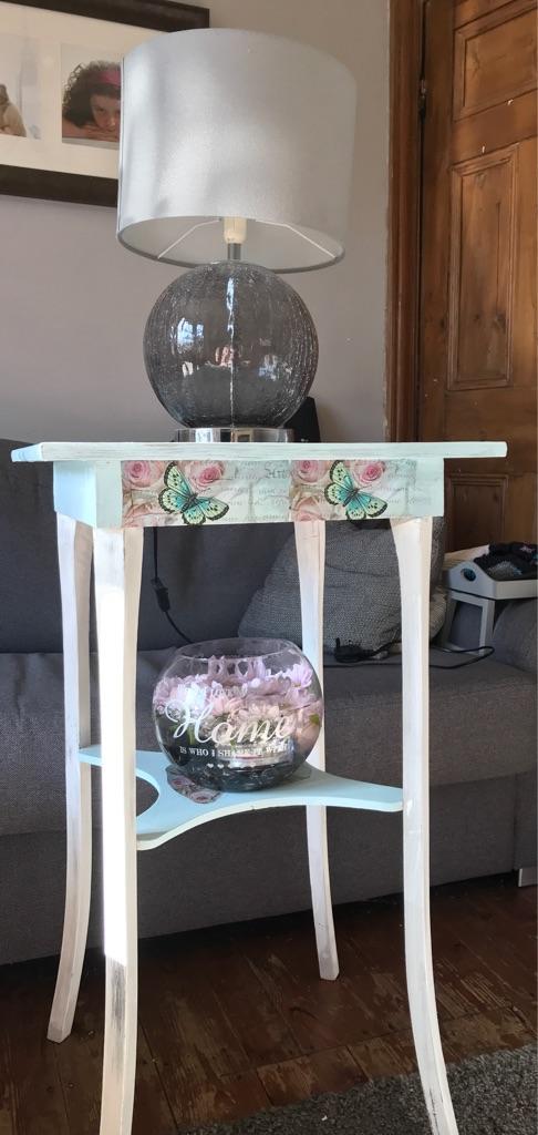 Tall display table