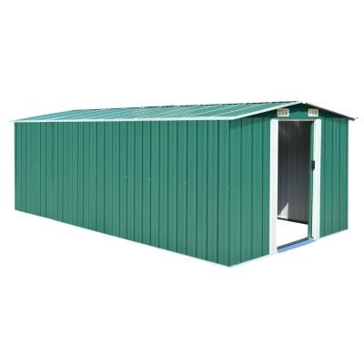 16x8x5ft metal Garden Shed