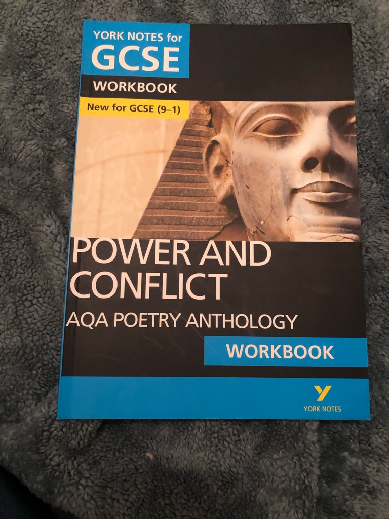 AQA GCSE power&conflict work book never used