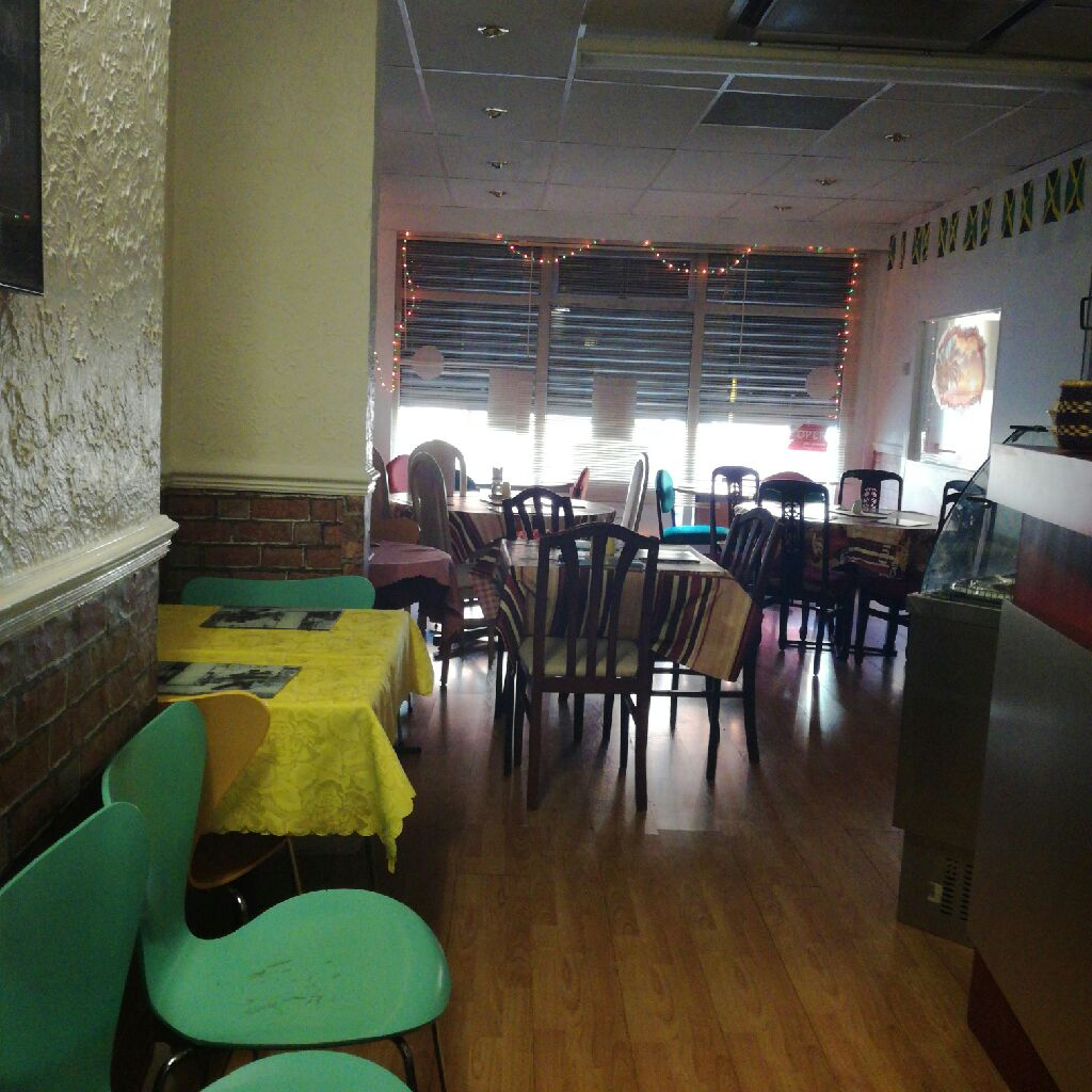 Restaurant dinning area